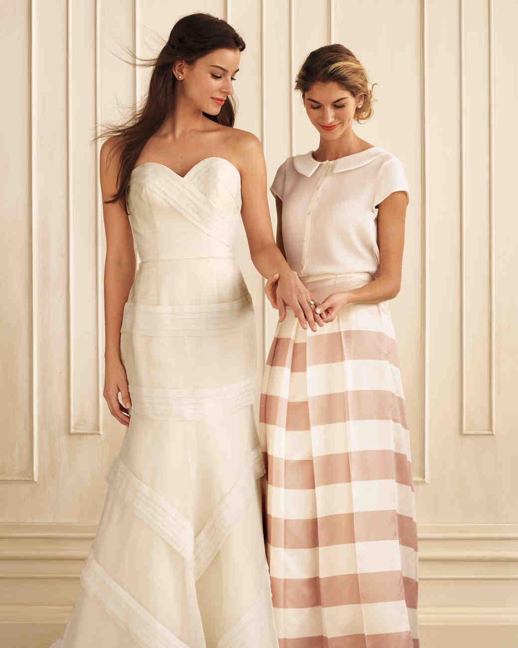 Striped Wedding Ideas | Martha Stewart Weddings