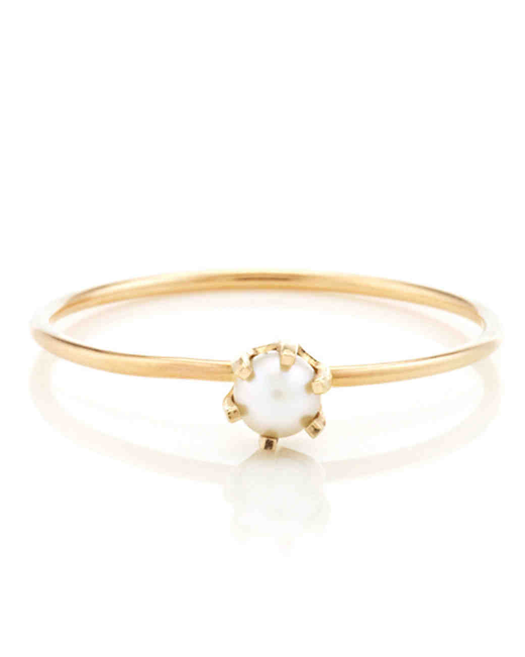 Vale Pearl Engagement Ring