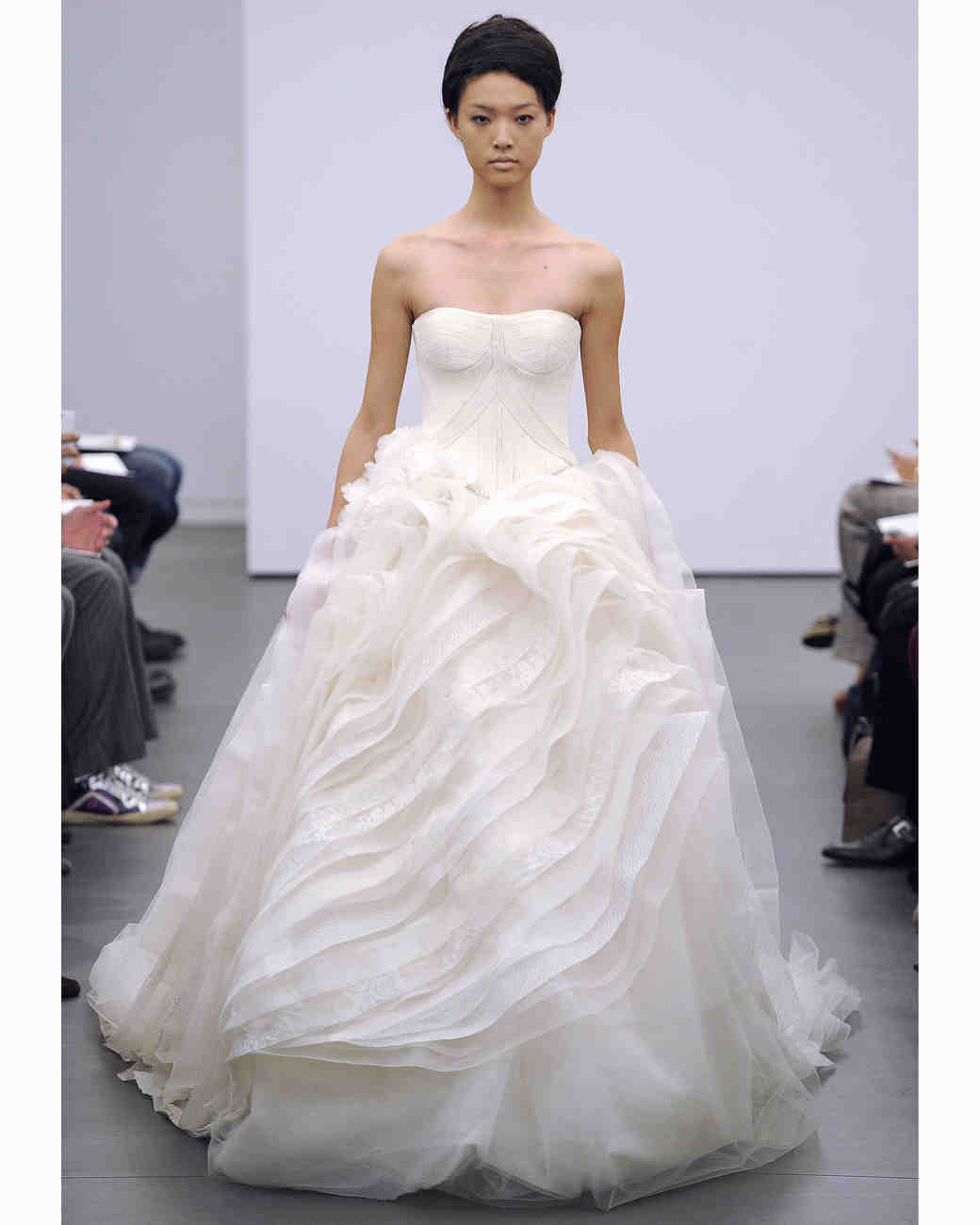 Vera wang fall 2013 collection martha stewart weddings ball gown vera wang junglespirit