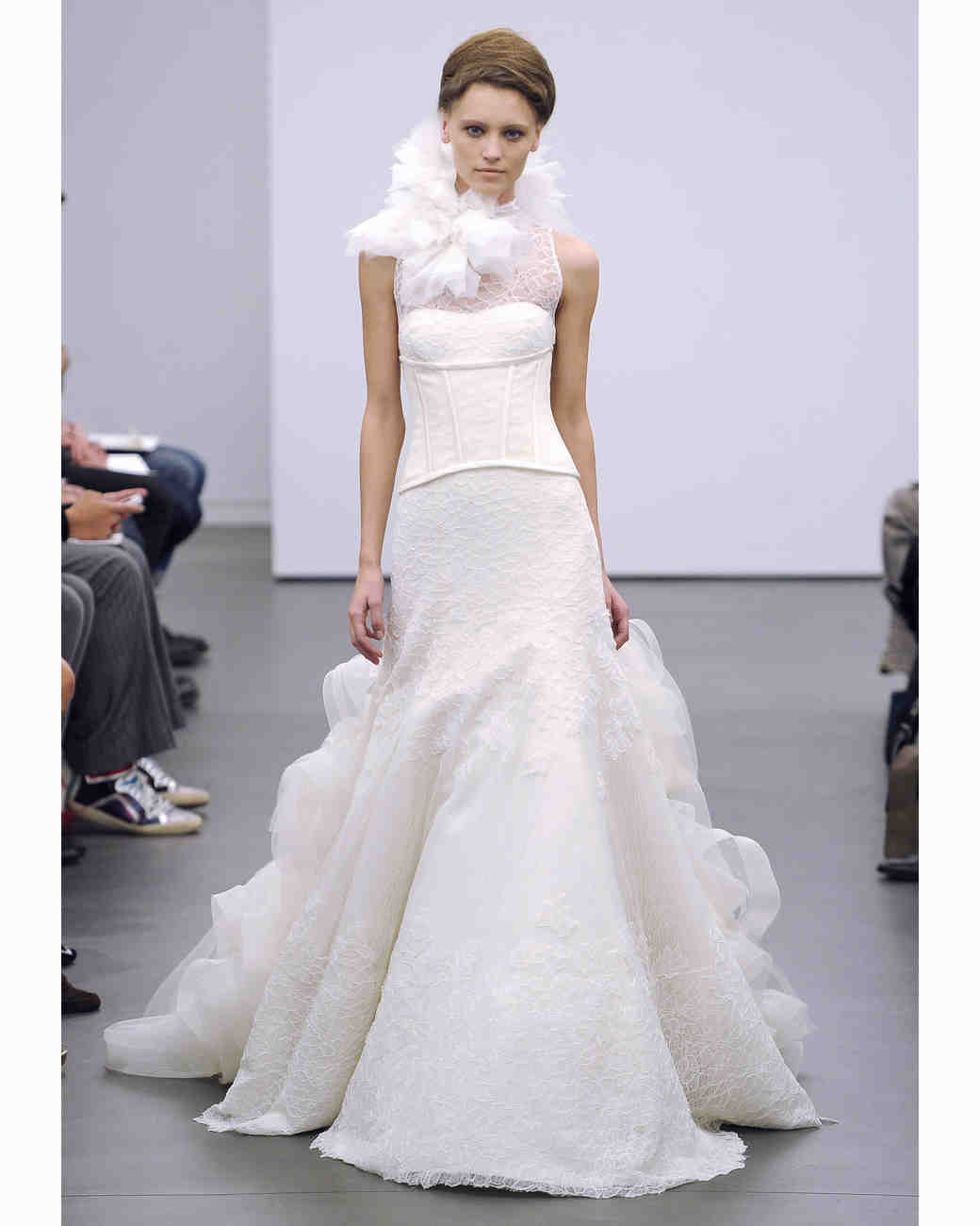 Vera Wang, Fall 2013 Collection | Martha Stewart Weddings
