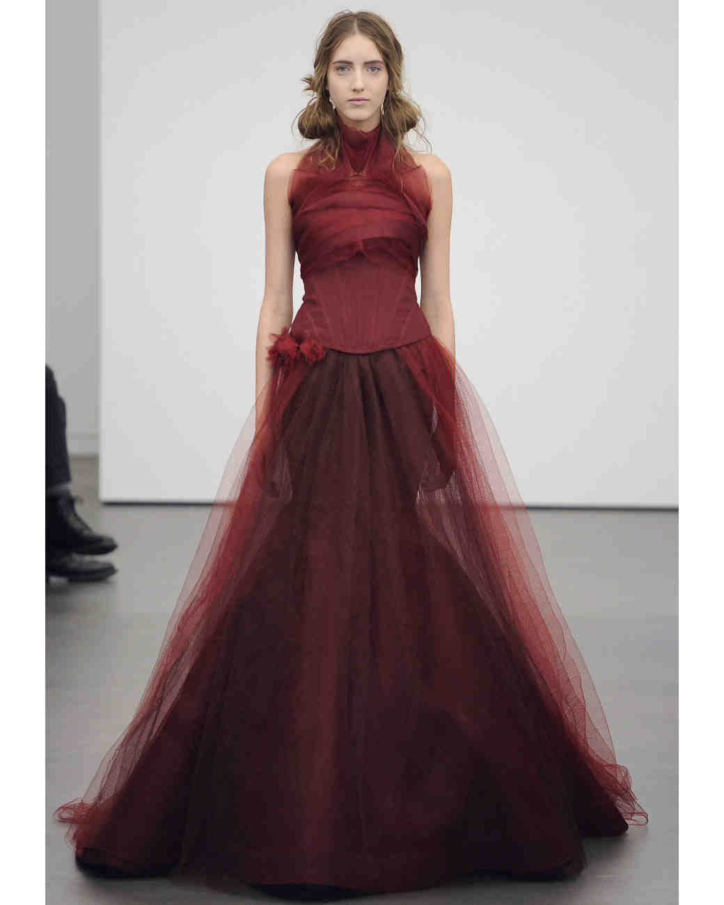 Red Wedding Dresses: Red Wedding Dresses, Spring 2013 Bridal Fashion Week