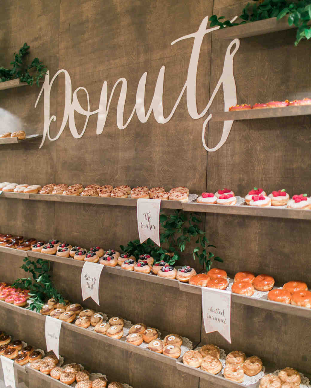 wedding donuts the grovers