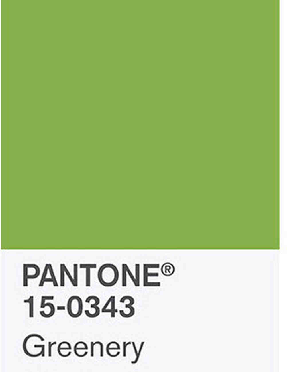 Wedding Color Ideas Inspired Pantone Shade
