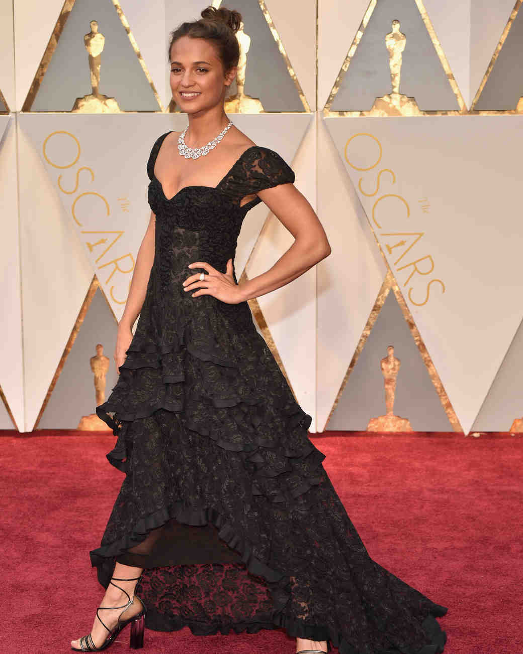Alicia Vikander 2017 OscarsRed Carpet