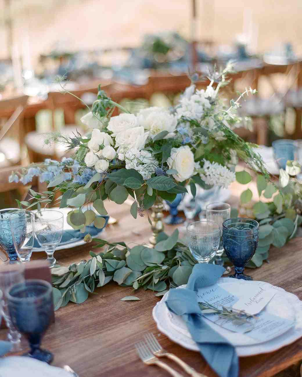 5feeba8c388 20 Blue Wedding Color Palettes We Love
