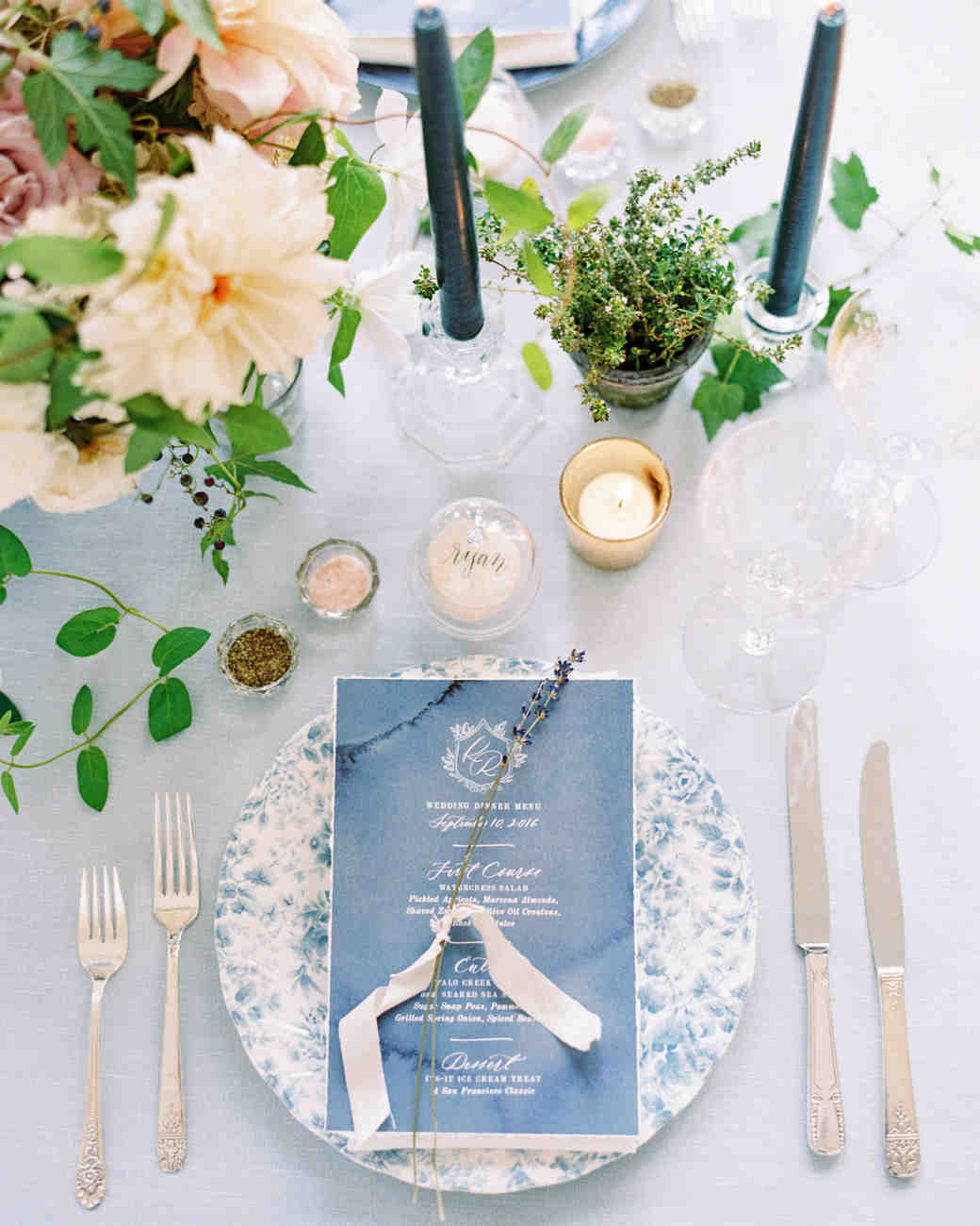 blue wedding ideas ryan ray