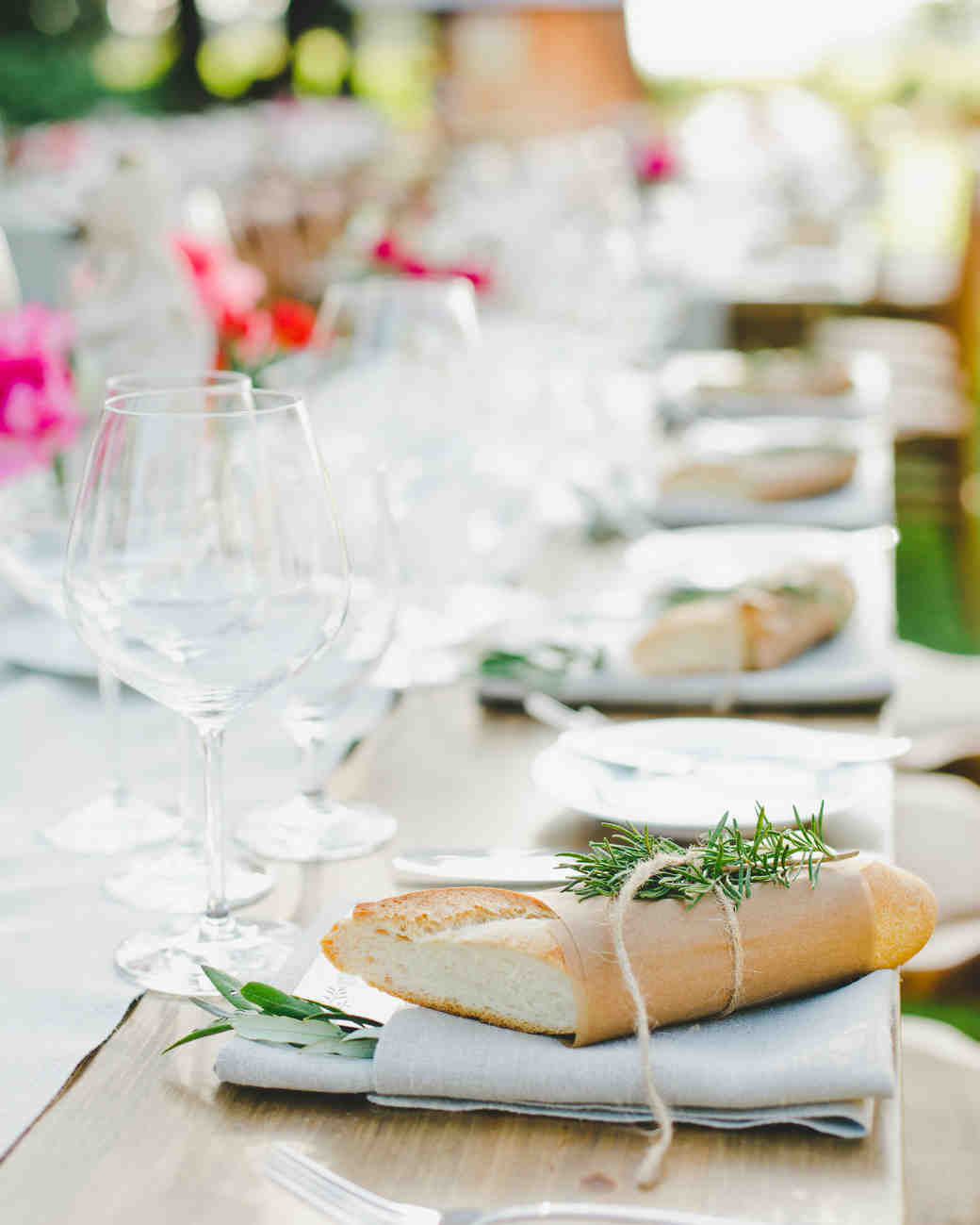 bread place settings