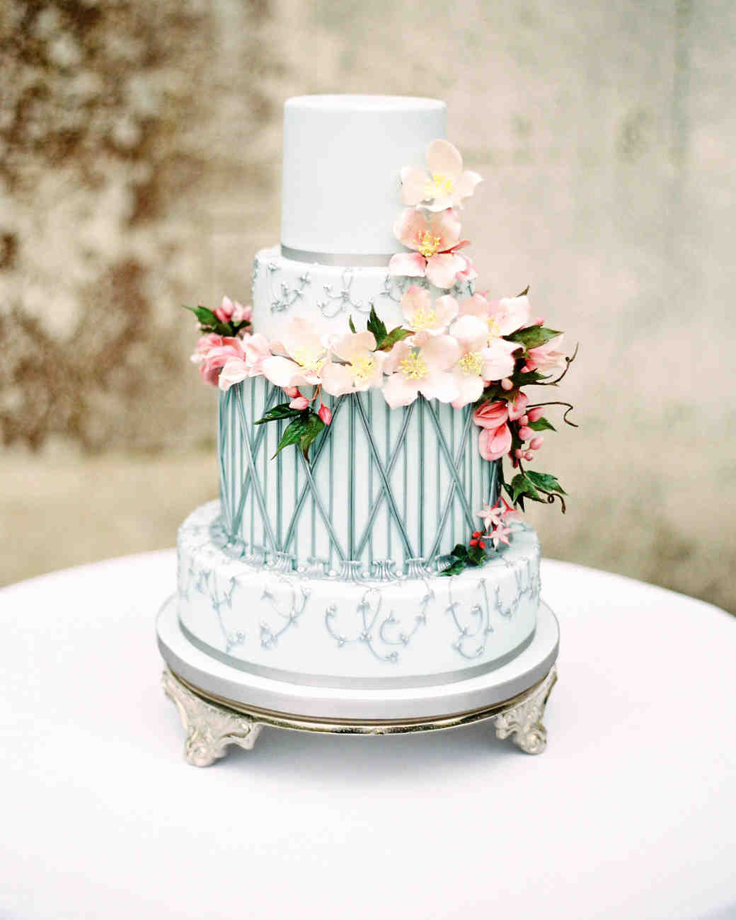25 wedding cake design ideas thatll wow your guests martha 25 wedding cake design ideas thatll wow your guests martha stewart weddings junglespirit Gallery