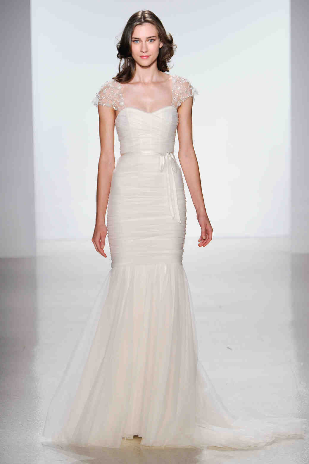 Cap Sleeve Wedding Dresses Spring 2014
