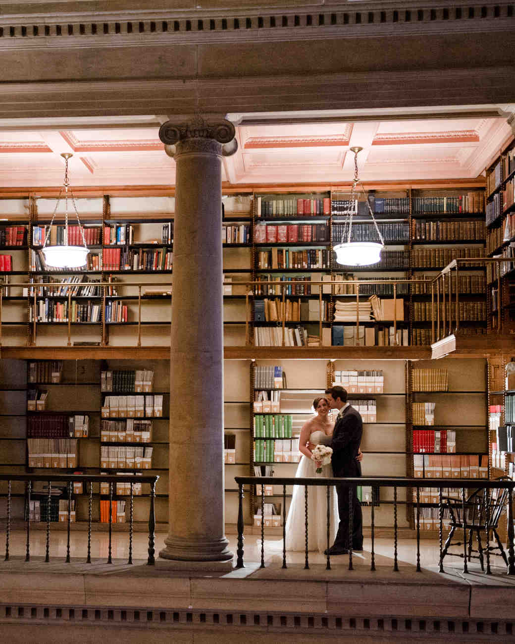 A Vintage Literary Themed Wedding At A Library In Minnesota Martha