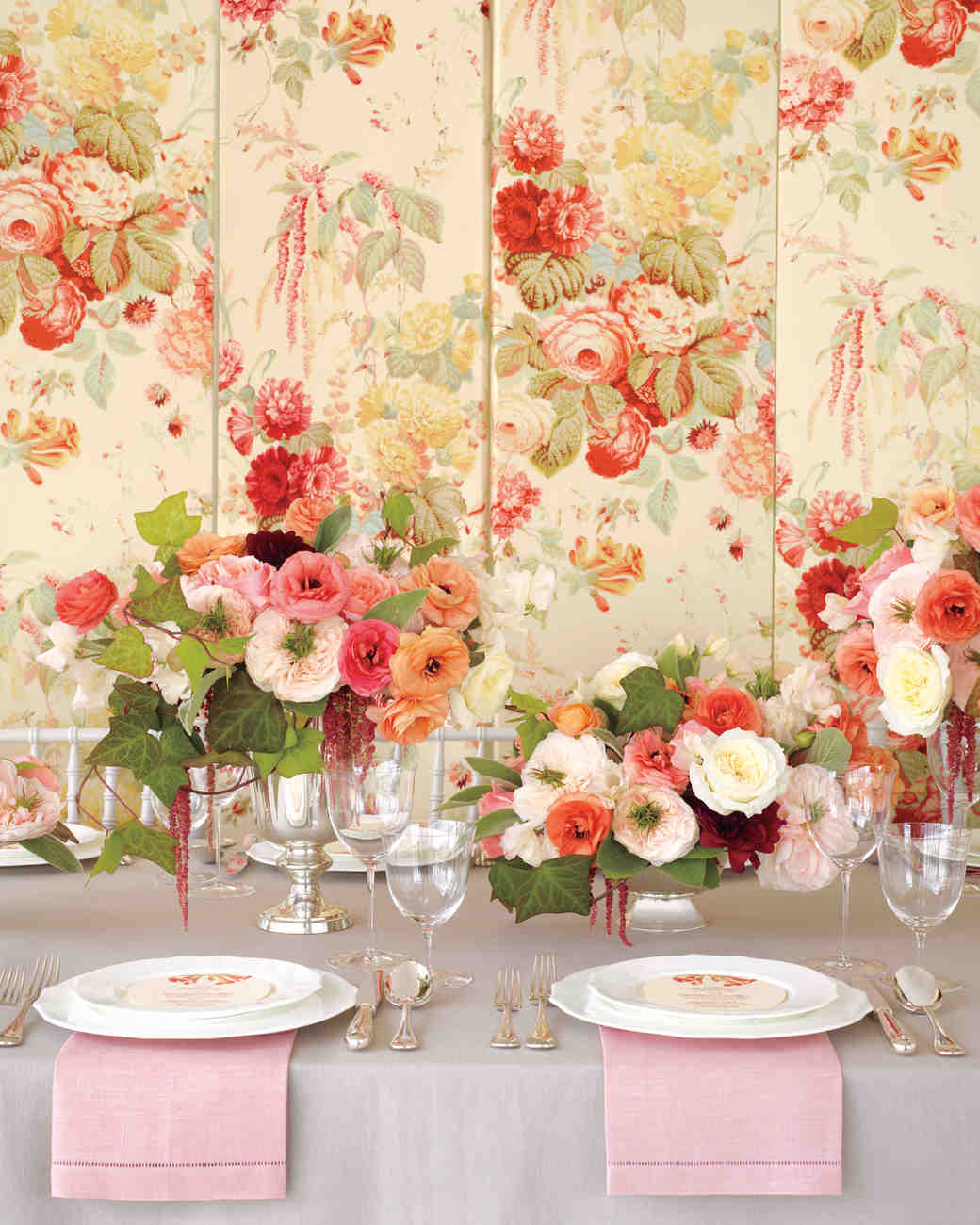 Floral Fabric-Inspired Wedding Ideas | Martha Stewart Weddings