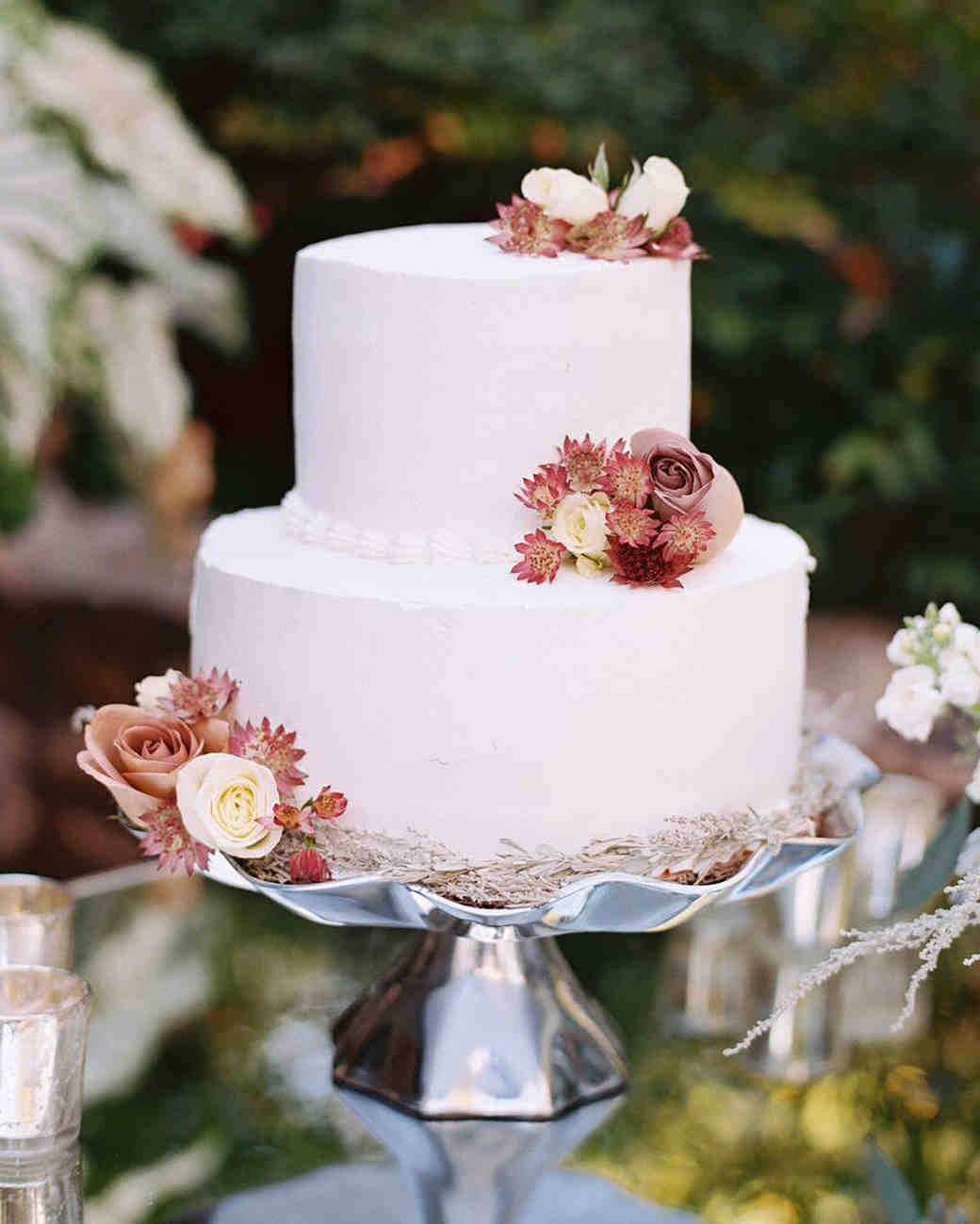 Simple Wedding Cake: Fall Wedding Cakes