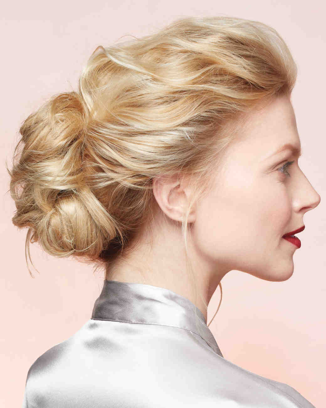 diy wedding hairstyles | martha stewart weddings