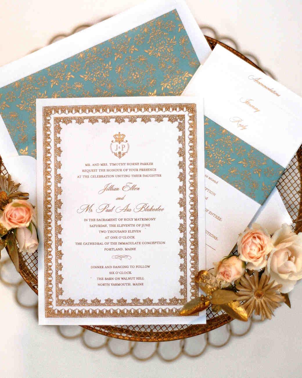 A Vintage-Inspired Formal Wedding in Maine | Martha Stewart Weddings