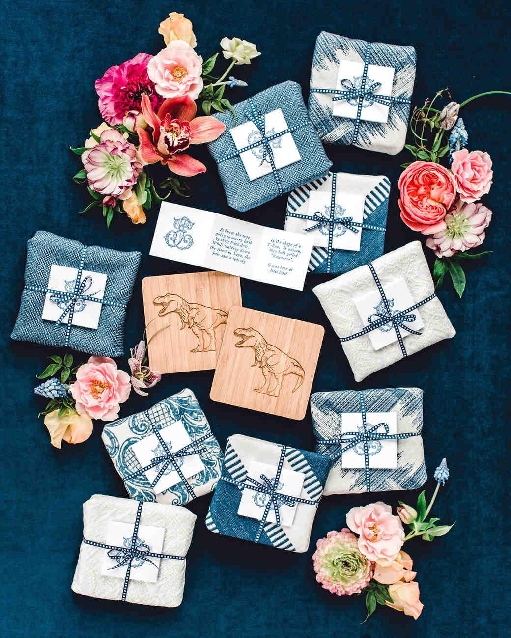 johanna erik wedding favors