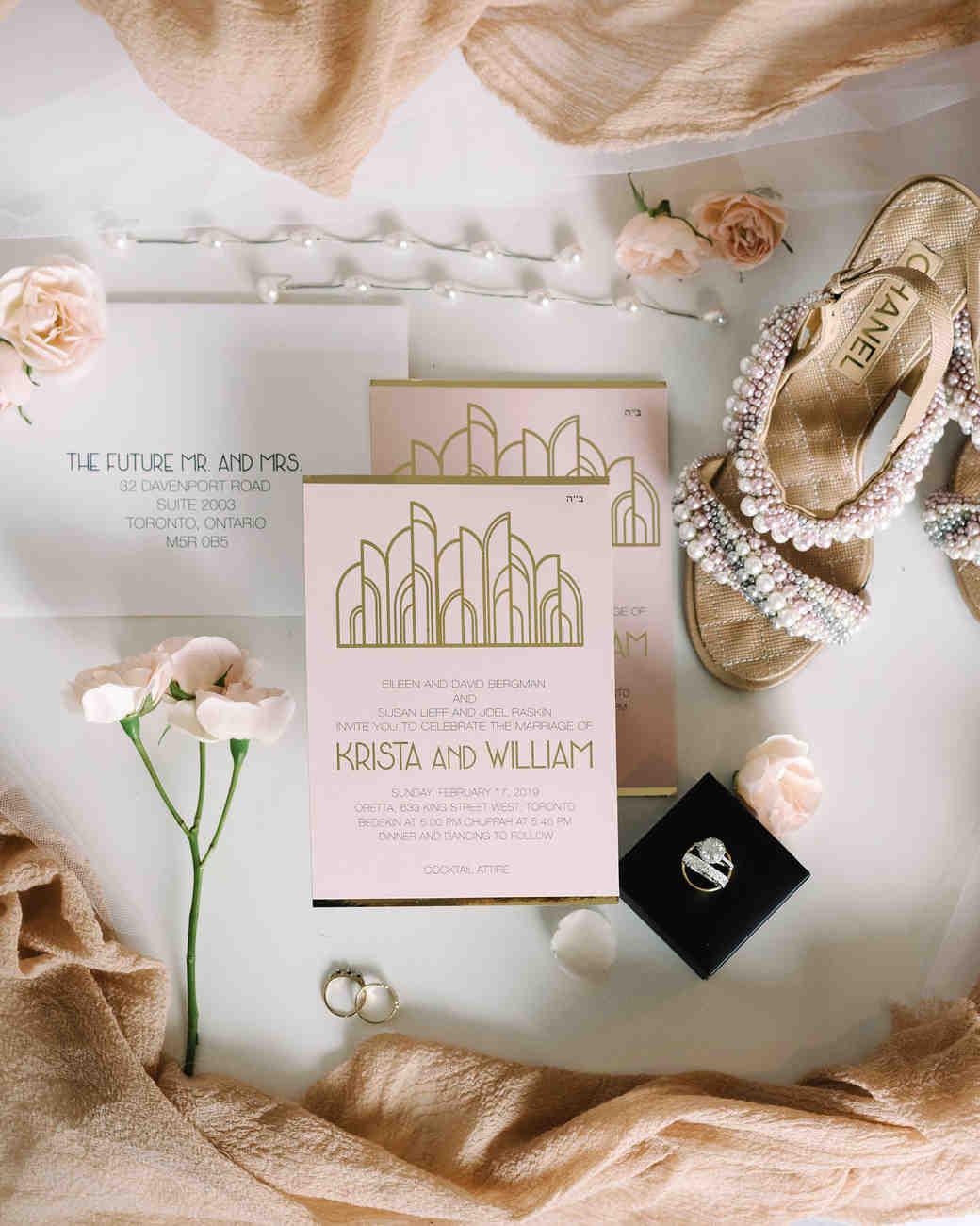 krista will wedding invitations and accessories