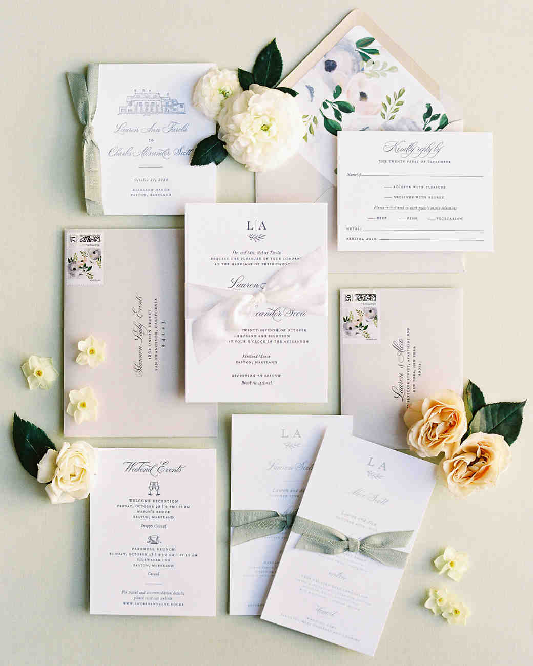 lauren alex wedding invitations