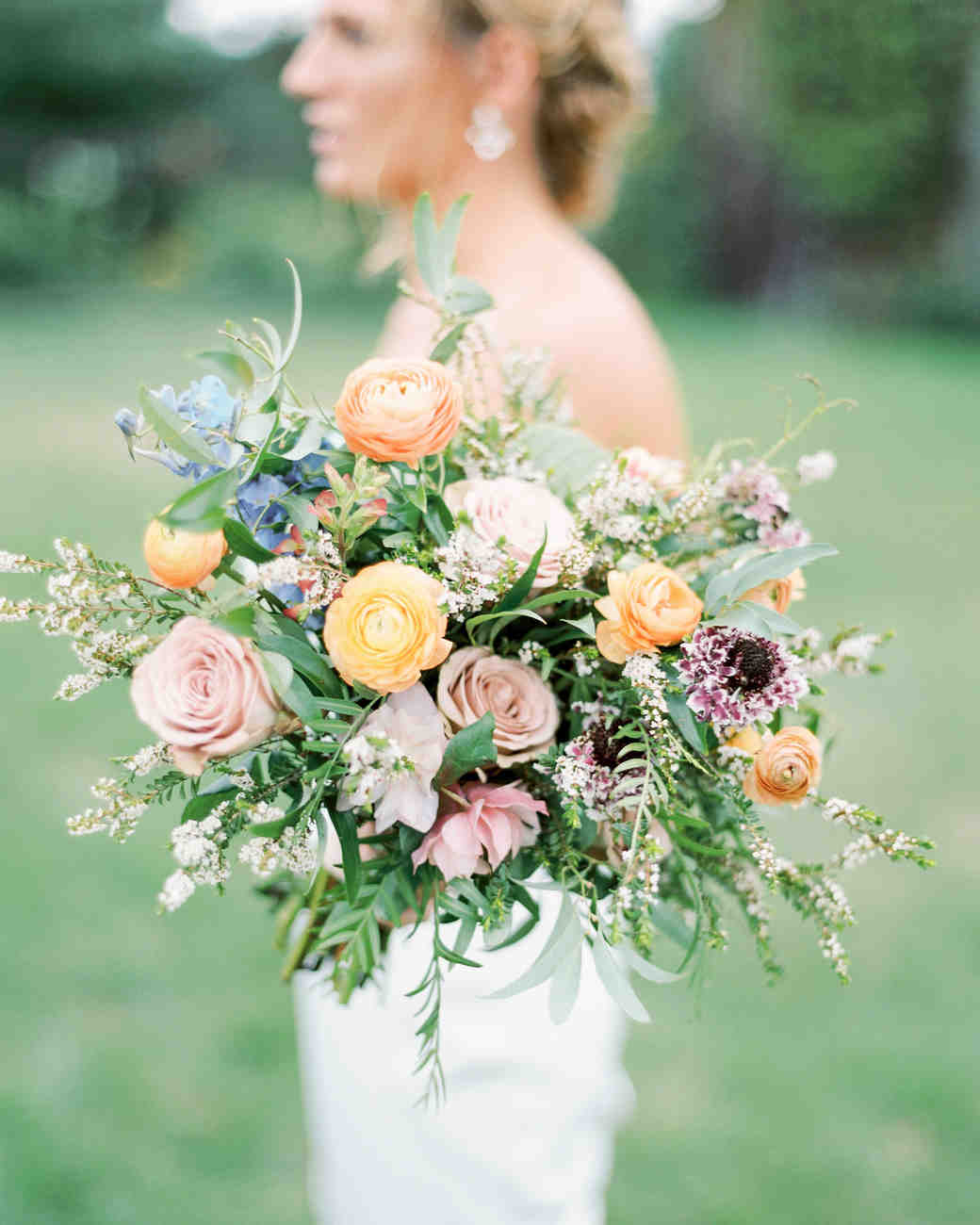 lauren josh wedding bouquet
