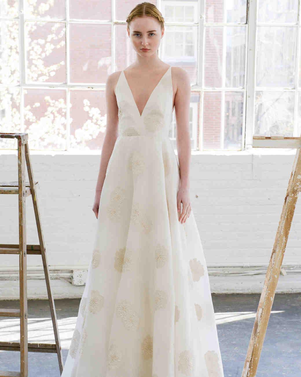 b9e4cf9aa0 Lela Rose Spring 2017 Wedding Dress Collection