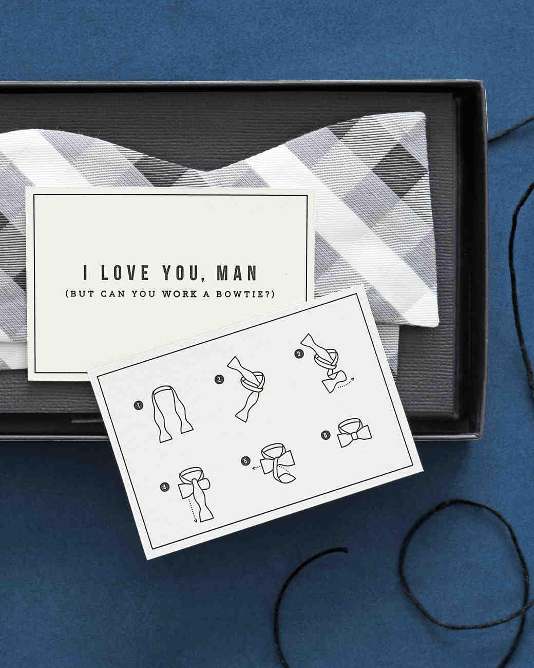 & 16 DIY Groomsmen Gifts The Guys Will Love | Martha Stewart Weddings