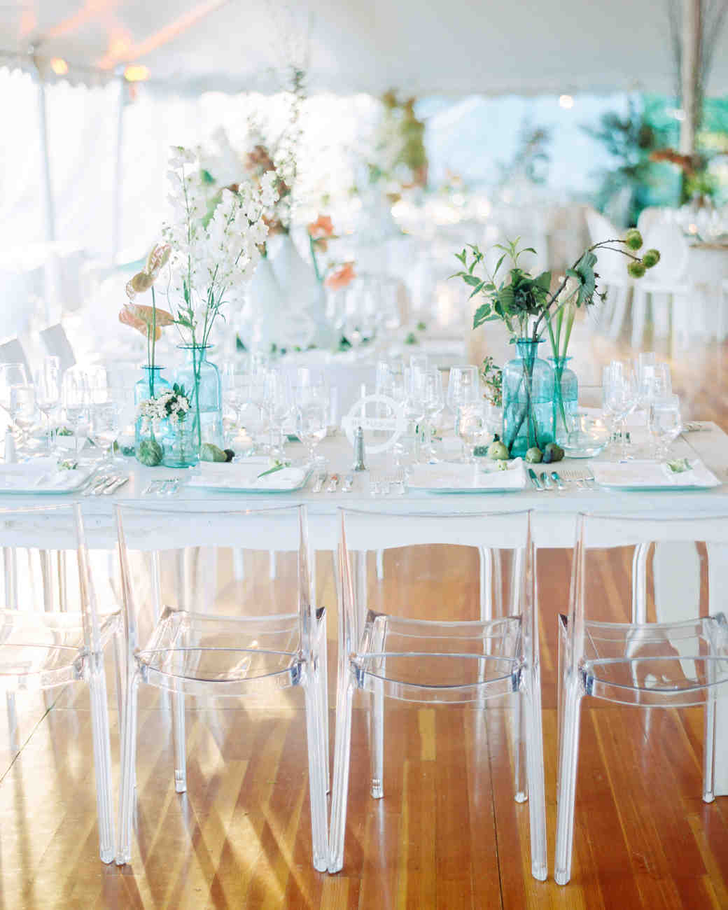 A Modern Tent Wedding in Newport, Rhode Island | Martha Stewart Weddings
