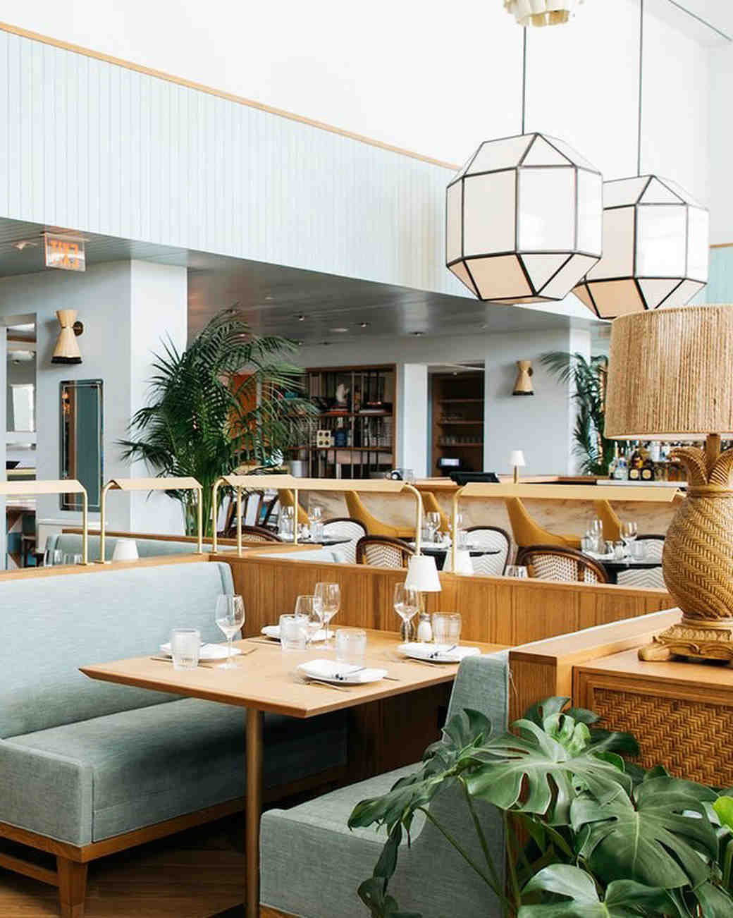 new venue indoor seating restaurant space