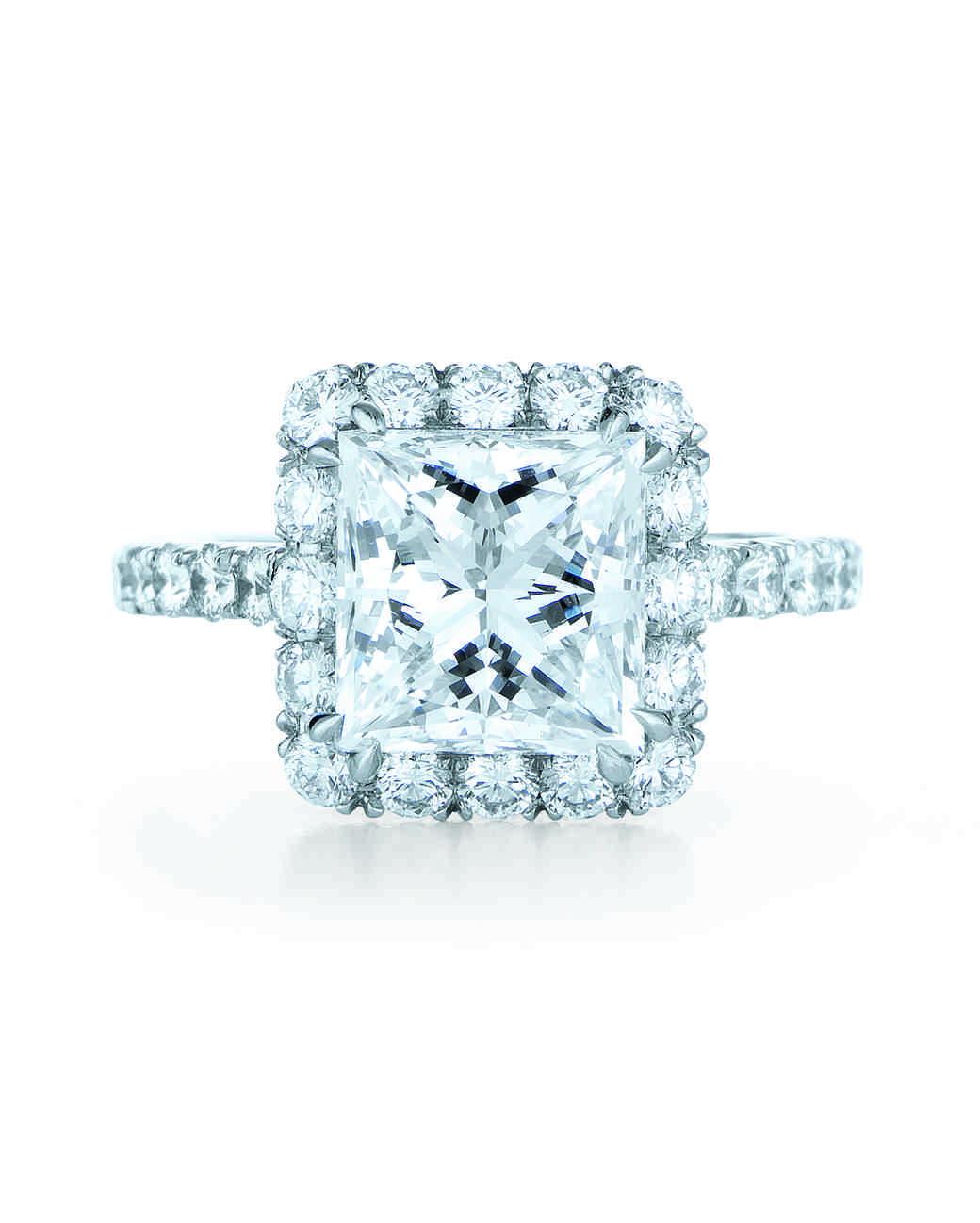 princess cut ring kwiat blue diamonds