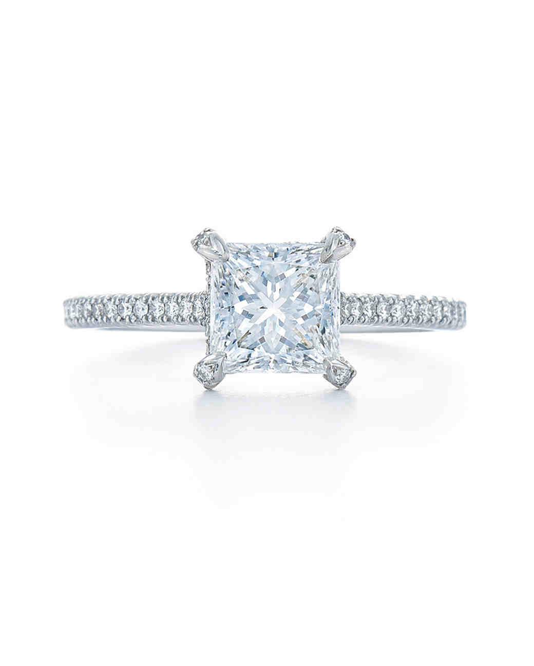 princess cut ring kwiat diamonds