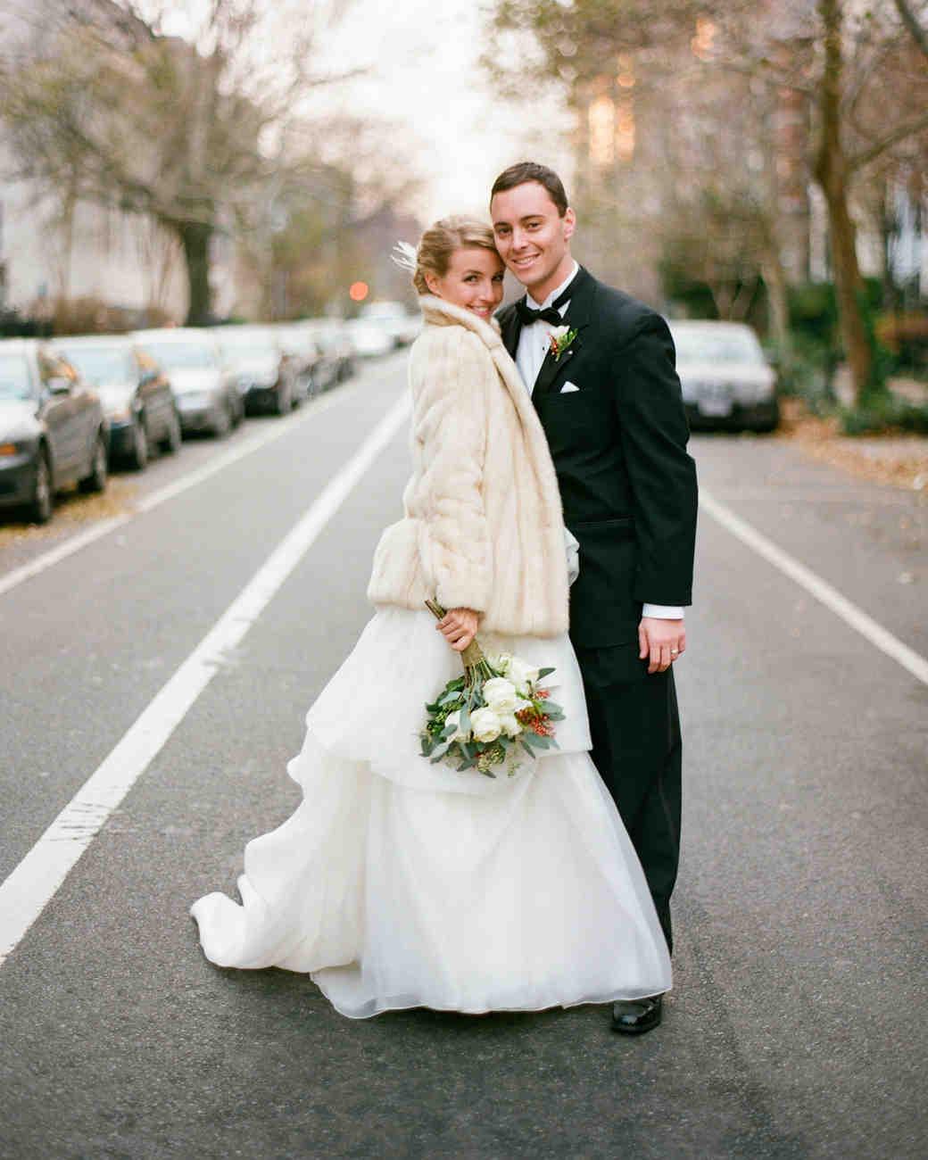 A Formal Christmastime Wedding in Washington, D.C. | Martha Stewart ...