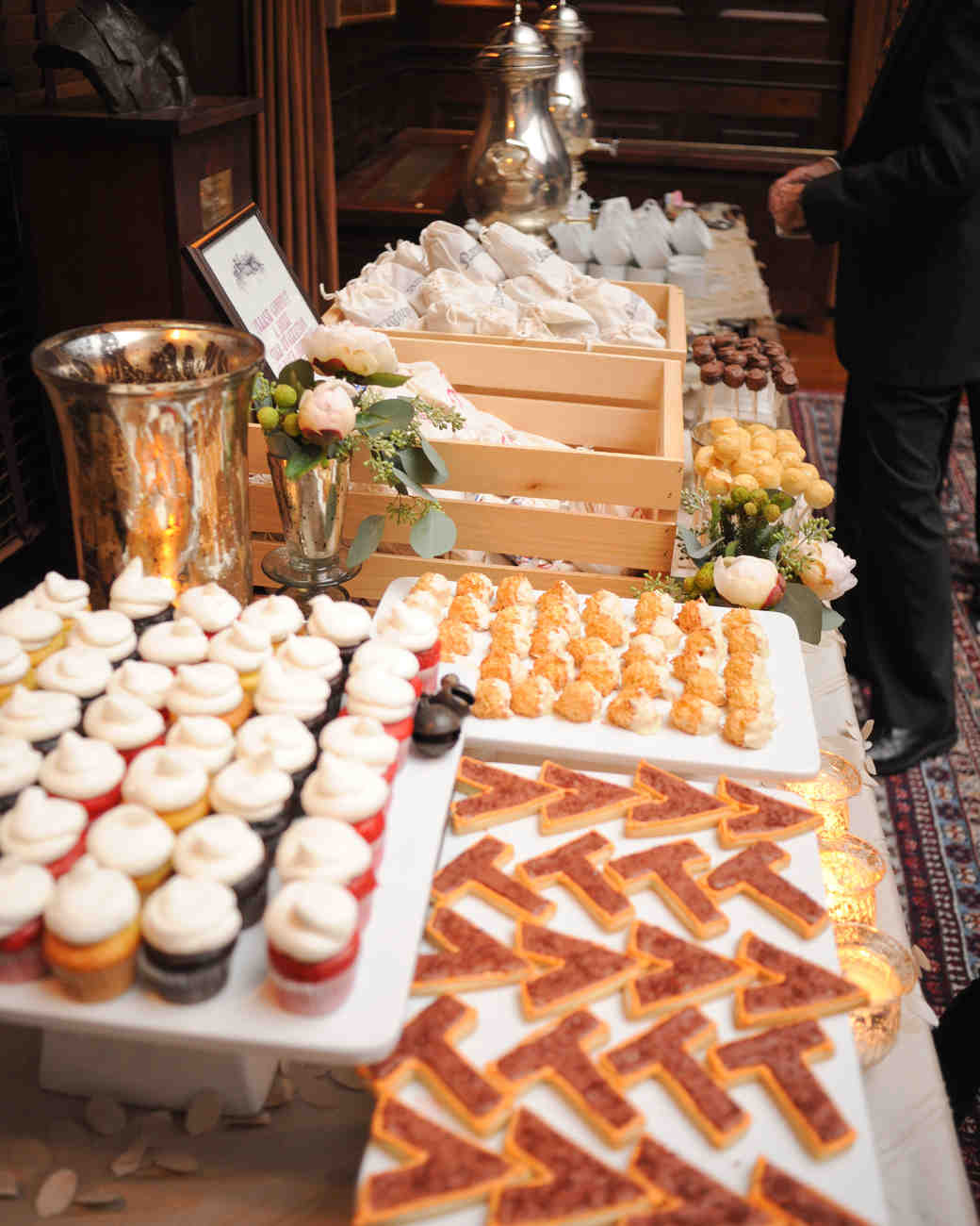 dessert table ideas from real weddings martha stewart weddings