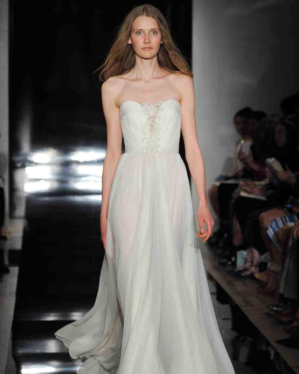 Reem Acra Spring 2017 Wedding Dress Collection | Martha Stewart Weddings