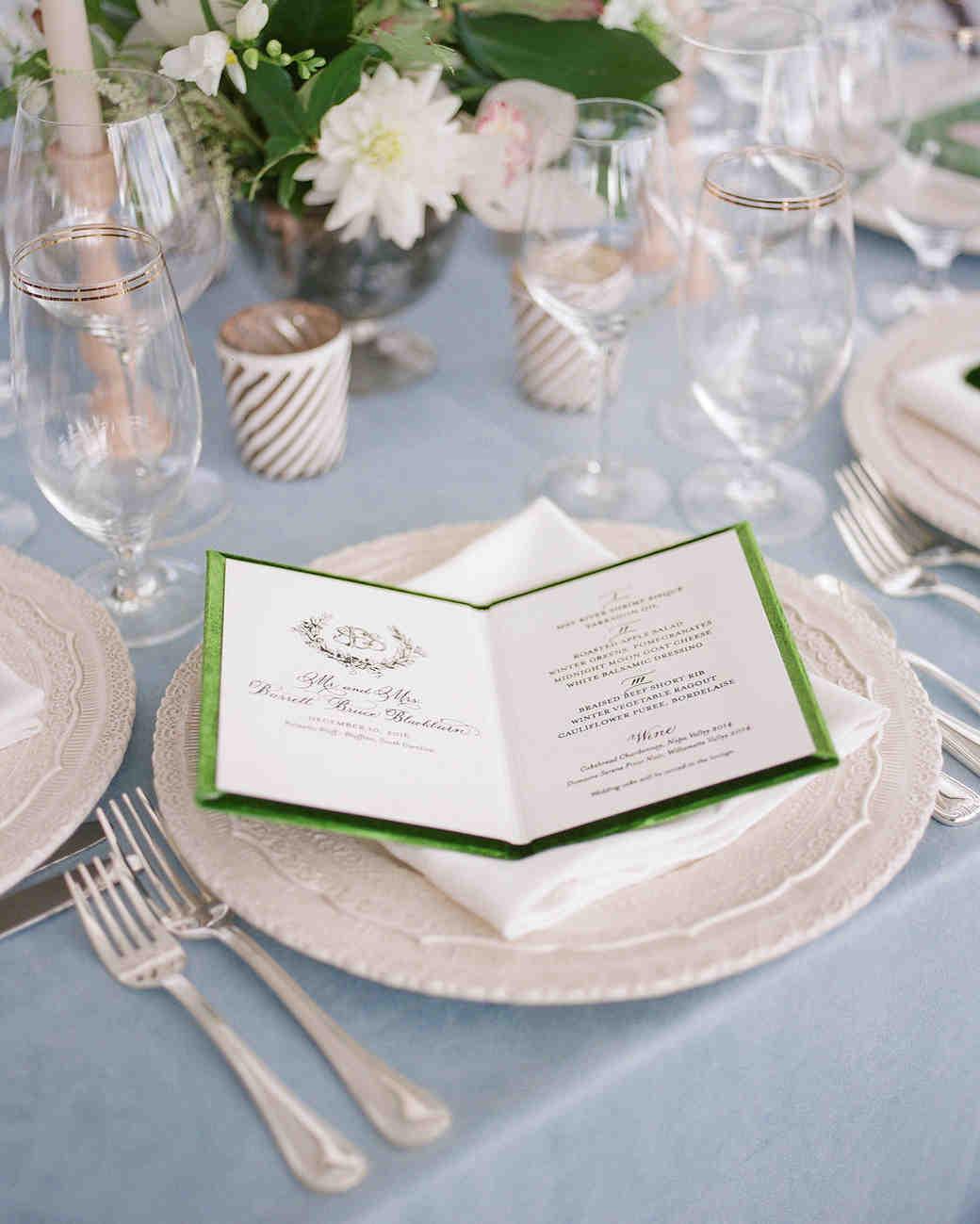 A Christmas-Themed Wedding in South Carolina | Martha Stewart Weddings