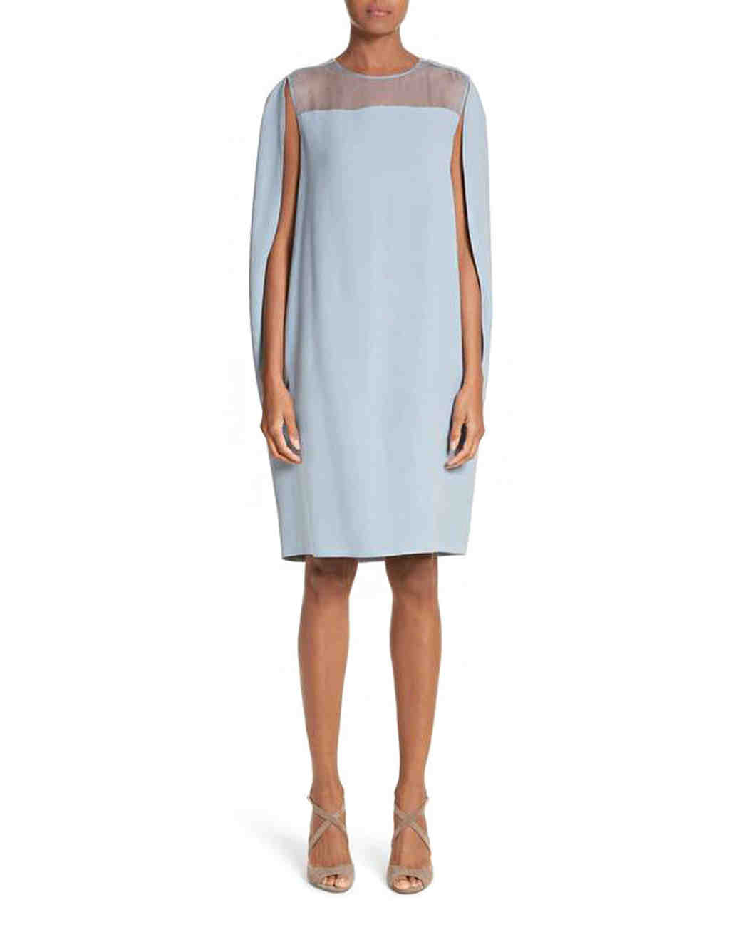 "Max Mara ""Sospiro"" cape shift dress"