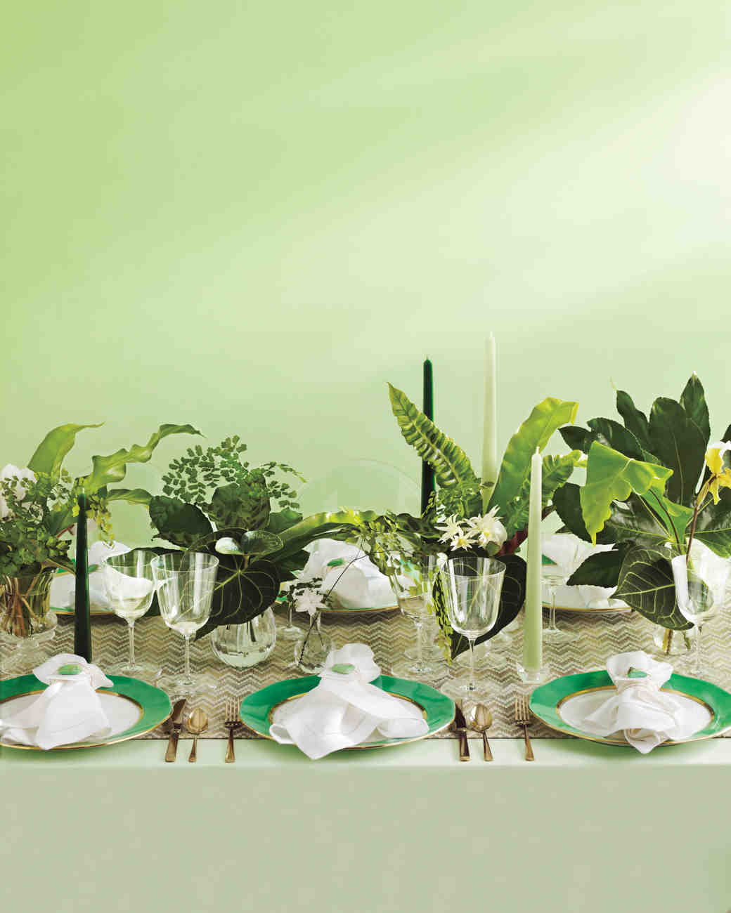 Green Wedding Ideas: Green Wedding Ideas For Shades From Emerald To Jade
