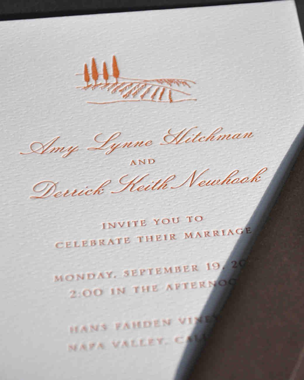 DestinationInspired Wedding Invitations Martha Stewart Weddings