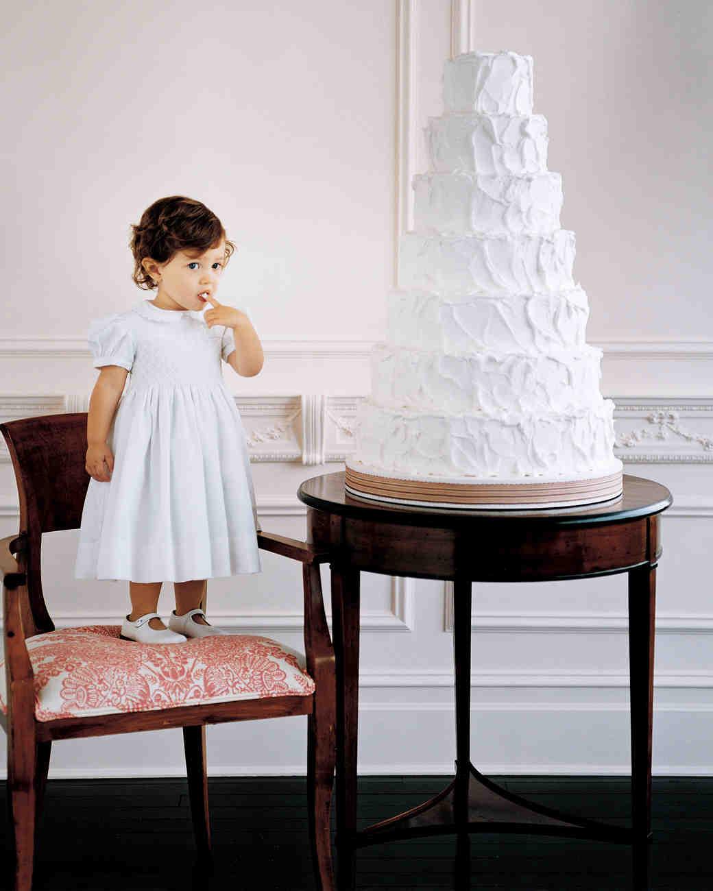 Devil's Food Wedding Cake Assembly