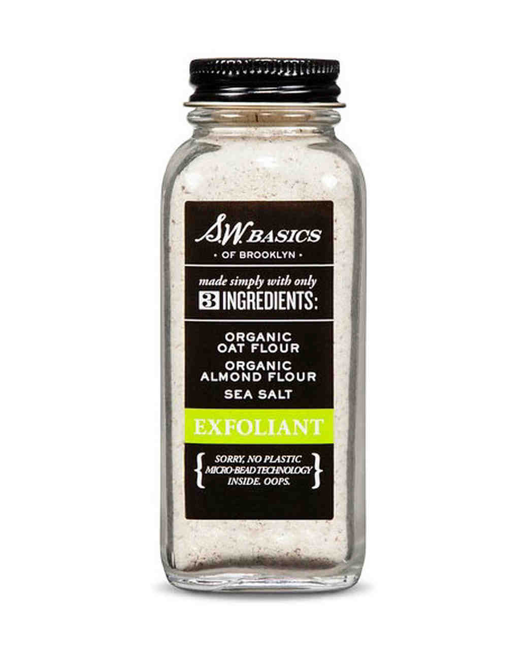 sw basics sea salt exfoliant