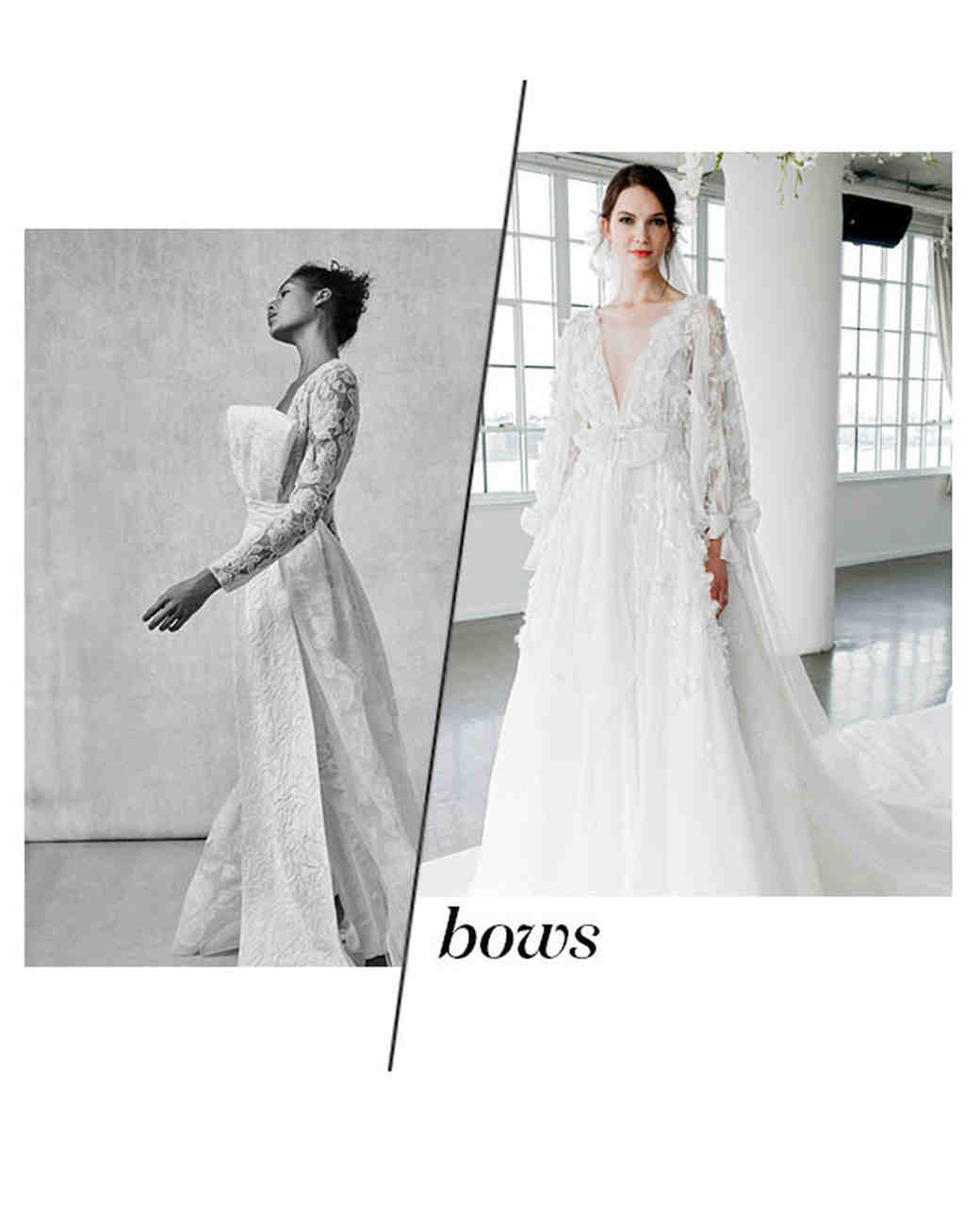 Fall 2018 Wedding Dress Trends, Bows