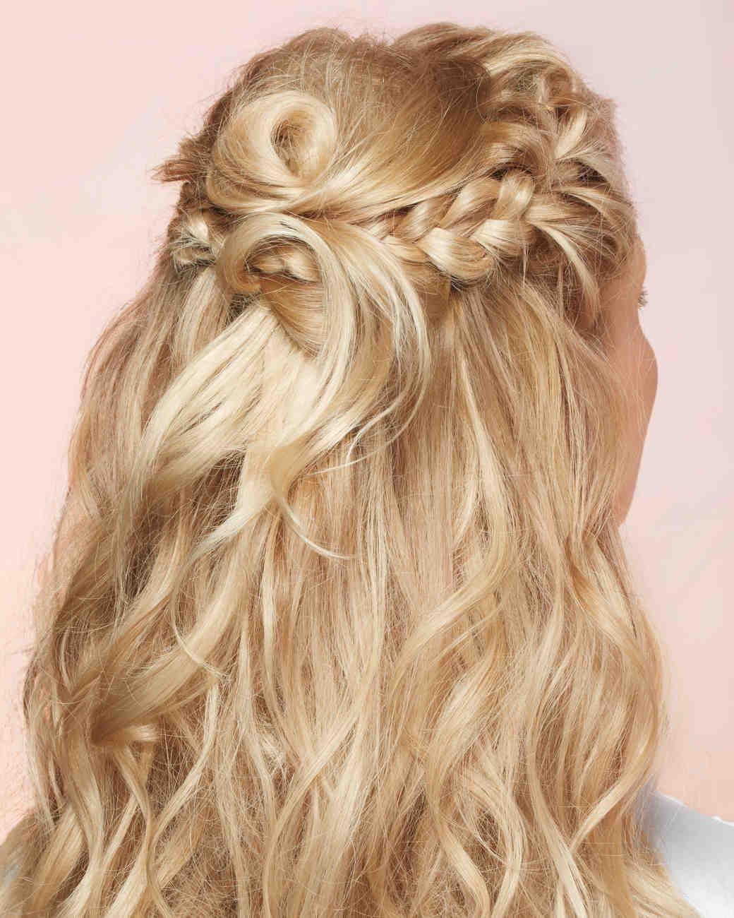 Easy Beach Wedding Hairstyles: Martha Stewart Weddings