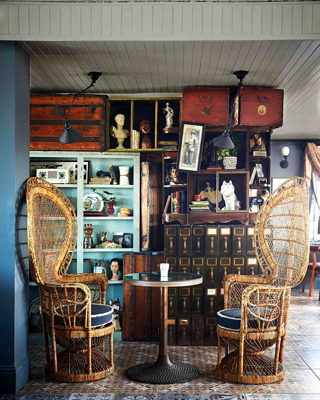 hot tin bar wicker chairs new orleans