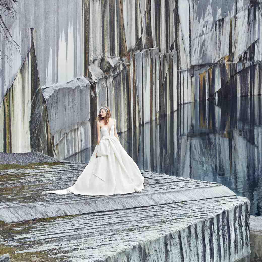 These Modern Wedding Dresses Will Rock Your World Martha Stewart