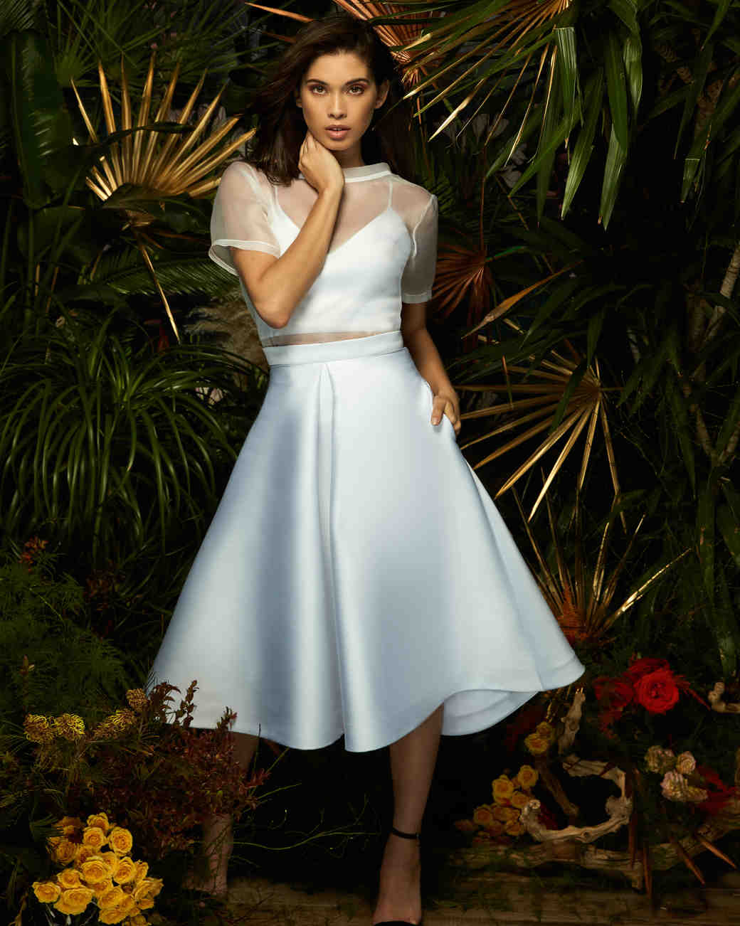 lakum wedding dress spring 2019 separates skirt