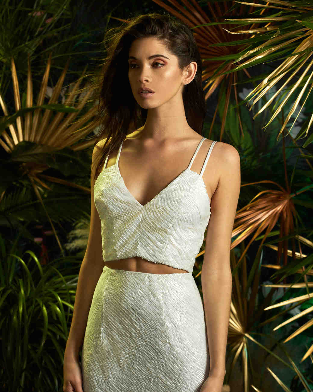 lakum wedding dress spring 2019 double-strap tank separates