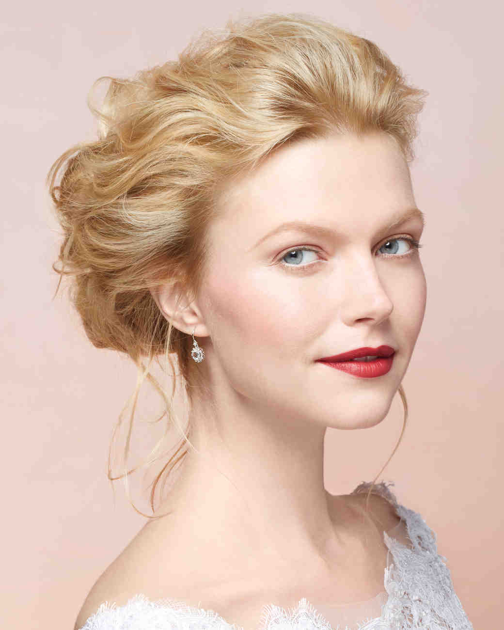 Updo Hairstyles For Wedding Guests: Martha Stewart Weddings