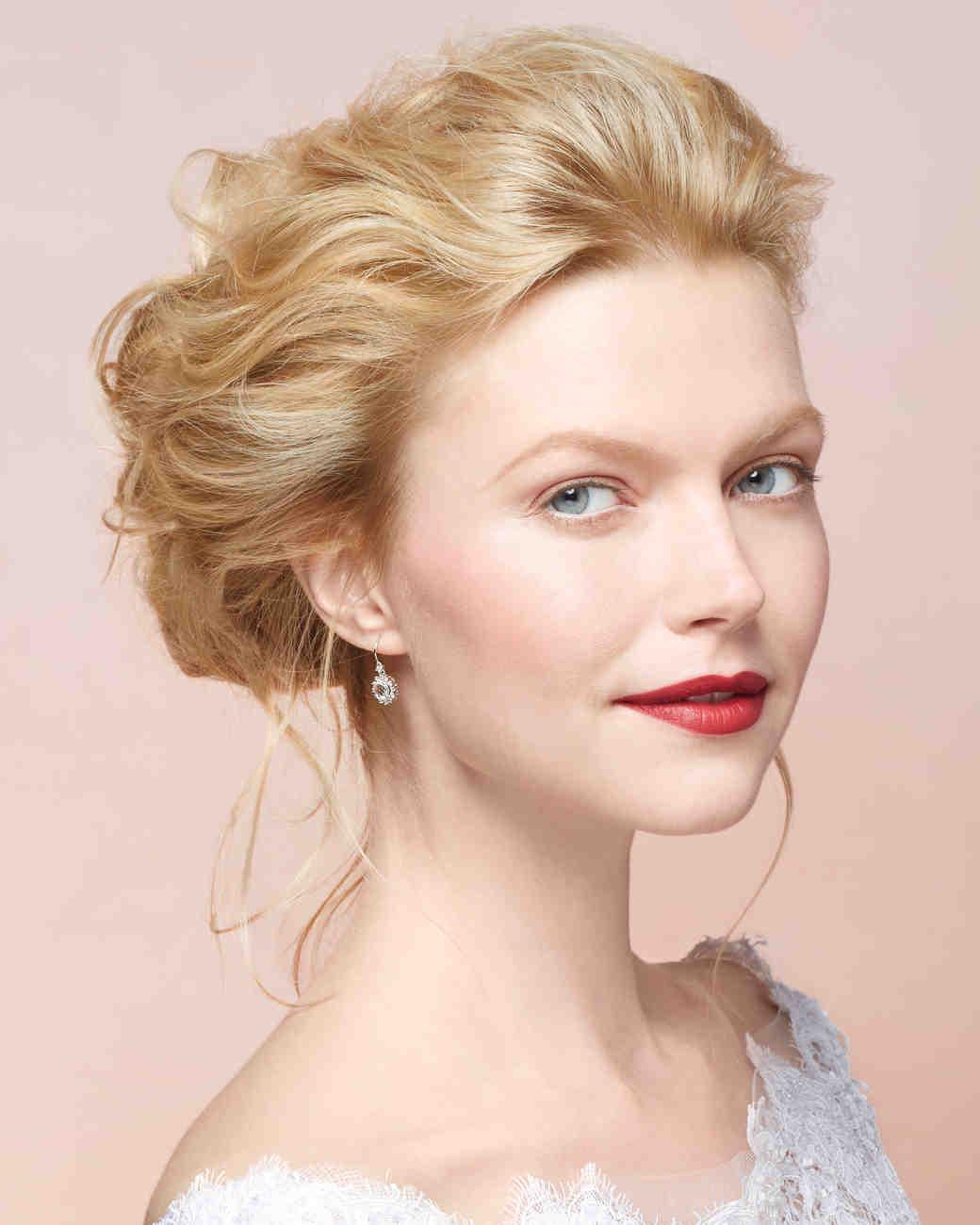 Awesome Diy Wedding Hairstyles Martha Stewart Weddings Hairstyle Inspiration Daily Dogsangcom