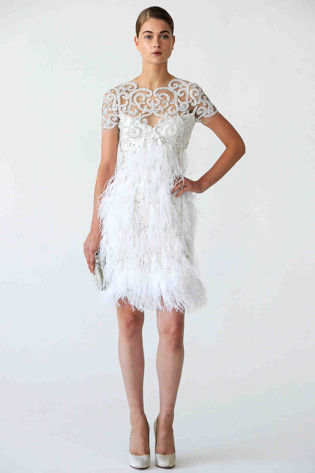 Glamorous Old Hollywood Style Wedding Dresses Fall 2012 Bridal Fashion Week