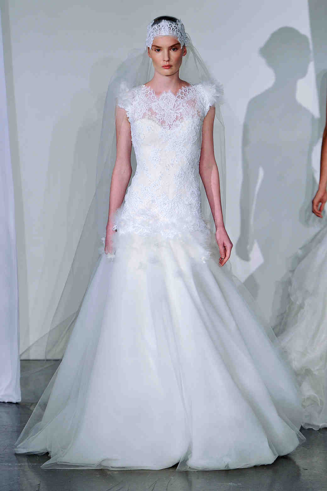 Marchesa, Fall 2013 Collection | Martha Stewart Weddings