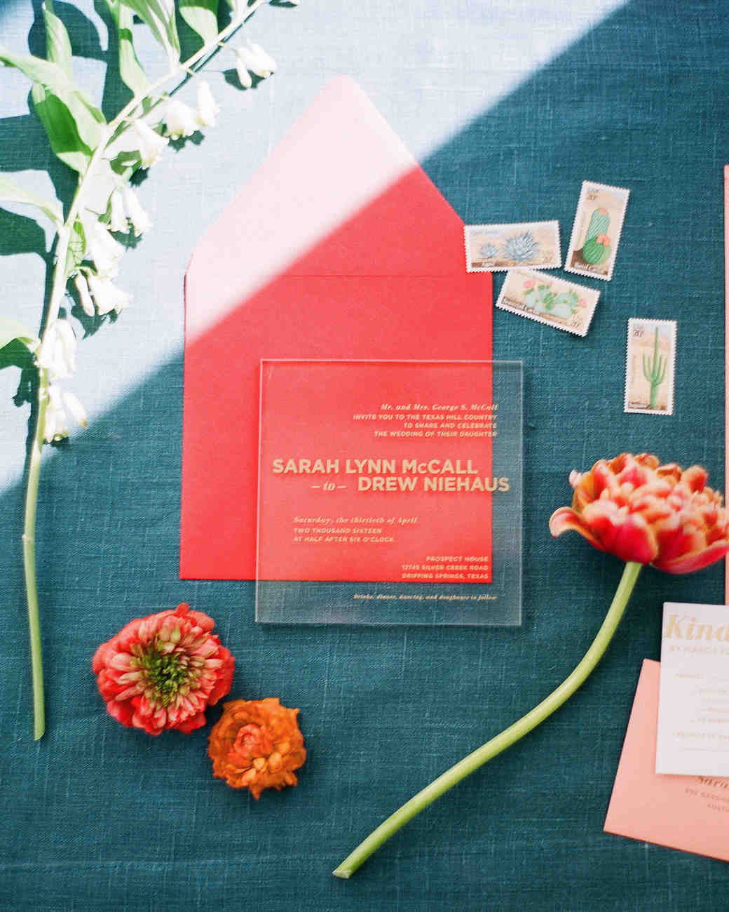 30 Modern Wedding Invitations We Love | Martha Stewart Weddings