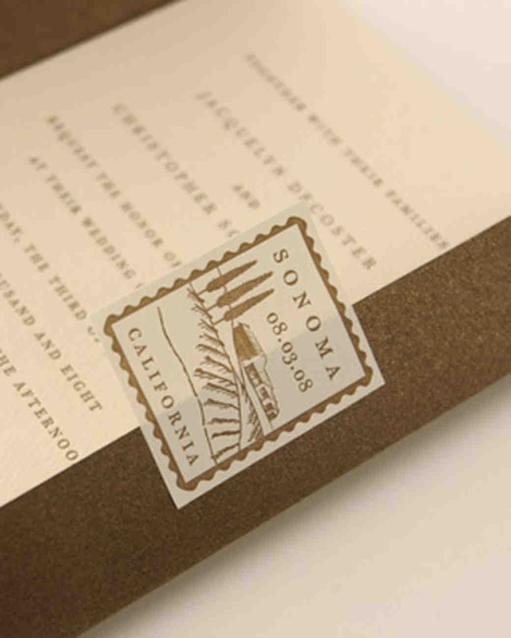 36 Destination Wedding Invitations from Real Weddings Martha