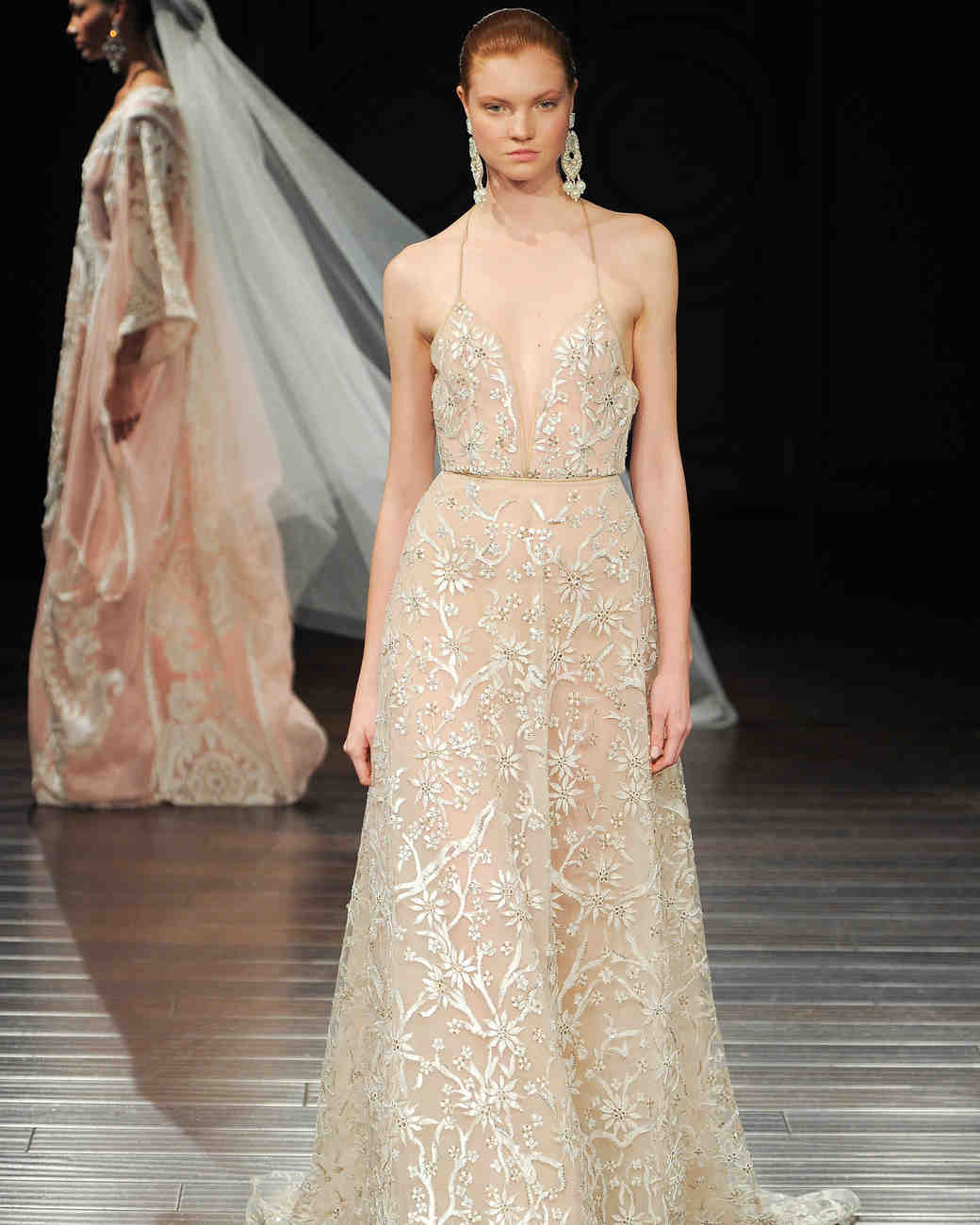 Naeem Khan sexy wedding dress